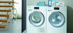 Wasmachines, drogers en strijkmachines